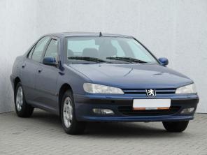 Peugeot 406 1999 Sedan modrá 6