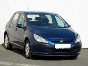 Peugeot 307 2002 Hatchback kék 9