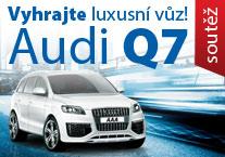 Vyhrajte luxusní vůz AUDI Q7!