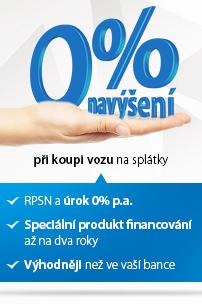 0% navýšení