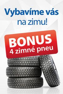 Zimné pneu ako bonus