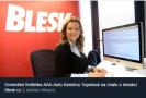 Blesk.cz: CHAT s Karolínou Topolovou: Jak si vybrat ojeté auto na zimu