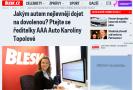 Blesk.cz: Jakým autem nejlevněji dojet na dovolenou? Ptali jste se ředitelky AAA Auto Karolíny Topolové