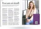 CZECH TOP 100 FORUM: Karolína Topolová - První auto mi ukradli