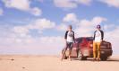 Cestovatelé ujeli 7000 kilometrů do Dakaru s autem z Áček za dva týdny