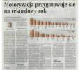 Rzeczpospolita: Motoryzacja przygotowuje się na rekordowy rok