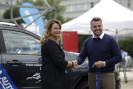 Dakarista Lukáš Kvapil jako patron zahájil prodejní výstavu vozů Mototechny v Brně