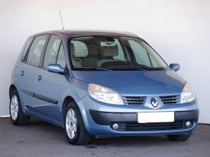 Renault Scenic 2005 MPV kék 5