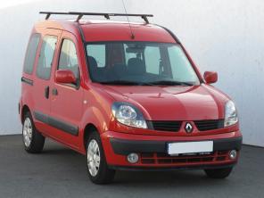 Renault Kangoo 2006 Pickup červená 9