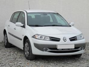 Renault Megane 2009 Sedan bílá 3