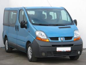 Renault Trafic 2005 Bus modrá 2