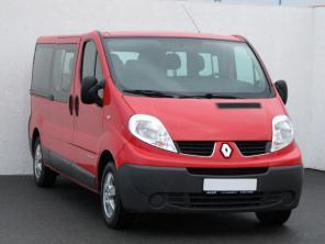 Renault Trafic 2015 Bus červená 10