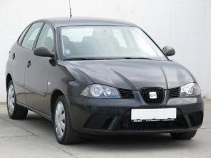 Seat Ibiza 2007 Hatchback czarny 8