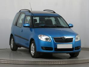 Škoda Roomster 2008 Rodinné vozy modrá 9