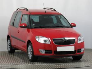 Škoda Roomster 2007 Rodinné vozy červená 6