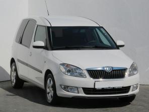 Škoda Roomster 2012 Rodinné vozy bílá 7
