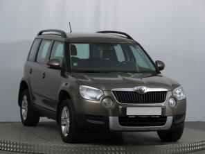 Škoda Yeti 2011 SUV brązowy 7