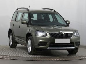Škoda Yeti 2017 SUV zelená 5
