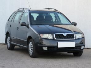 Škoda Fabia 2003 Combi čierna 10