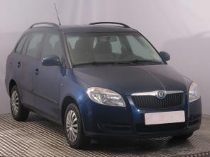 Škoda Fabia 2009 Combi modrá 2