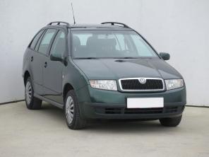Škoda Fabia 2002 Combi zelená 6
