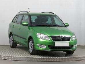 Škoda Fabia 2011 Combi zelená 2