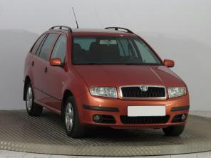 Škoda Fabia 2006 Combi oranžová 2