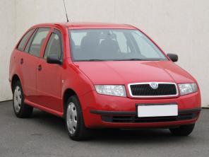 Škoda Fabia 2002 Combi červená 10