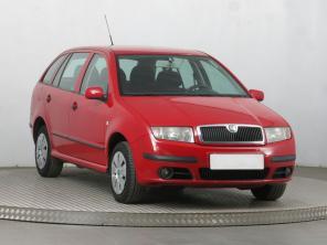 Škoda Fabia 2004 Combi červená 3