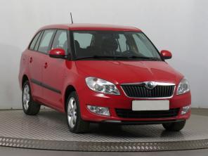 Škoda Fabia 2013 Combi červená 3