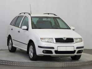 Škoda Fabia 2007 Combi bílá 9