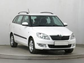 Škoda Fabia 2010 Combi bílá 1