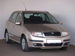 Škoda Fabia 2006 Hatchback béžová 8