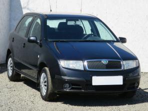 Škoda Fabia 2004 Hatchback černá 1