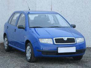 Škoda Fabia 2001 Hatchback modrá 10