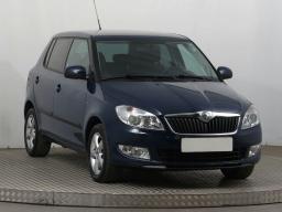 Skoda Fabia 2014 Hatchback blue 10