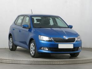 Škoda Fabia 2015 Hatchback modrá 7