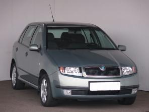 Škoda Fabia 2002 Hatchback zelená 4