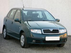Škoda Fabia 2006 Hatchback zelená 8