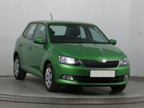 Škoda Fabia 2016 Hatchback zelená 3