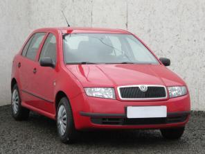 Škoda Fabia 2003 Hatchback červená 5