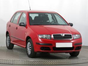 Škoda Fabia 2004 Hatchback červená 5