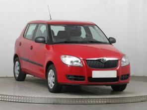 Škoda Fabia 2008 Hatchback červená 4