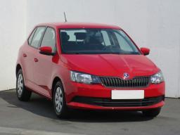 Skoda Fabia 2015 Hatchback red 9