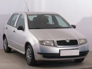 Skoda Fabia 2001 Hatchback ezüst 8
