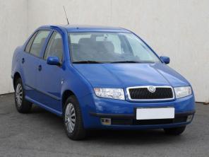 Škoda Fabia 2002 Sedan modrá 10