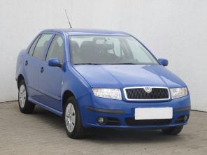 Skoda Fabia 2007 Sedan/Saloon kék 4