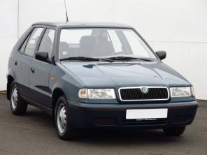Škoda Felicia 1998 Hatchback zelená 9