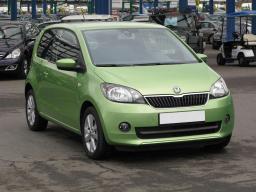 Škoda Citigo 2012 Hatchback zelená 4