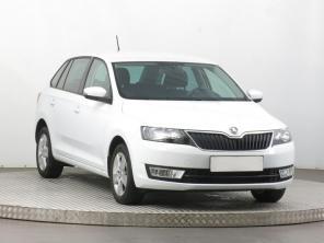Škoda Rapid Spaceback 2015 Hatchback bílá 2